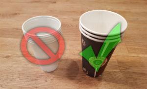Alternativen liefern, Müll vermeiden