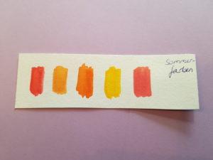 Sommerfarben