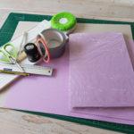 Materialliste für die Bindung