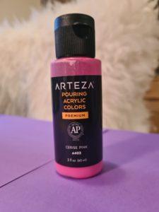 1 Flasche Arteza premixed Farbe